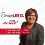Caroline Lebel – Courtier immobilier Propio Direct